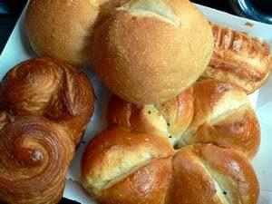 北欧倶楽部のパン