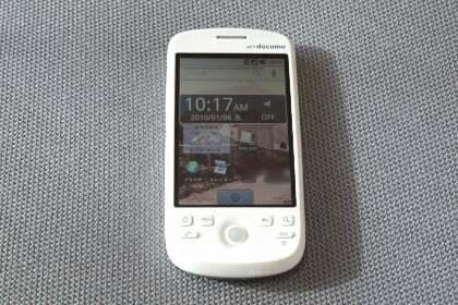 グーグルケータイHT-03Aの写真