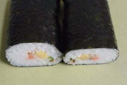 節分巻寿司の写真