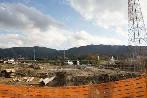 スーパーセンターオークワ中津川店予定地の写真