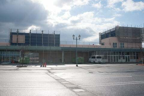 スーパーセンタートライアル彦根松原店の予定地の写真