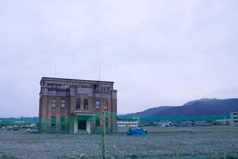 イオンモール東松本の予定地工事の写真