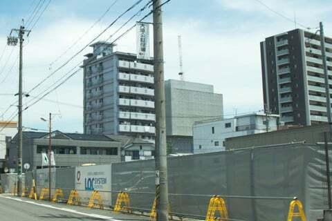 クスリのアオキ大垣丸の内店予定地の写真