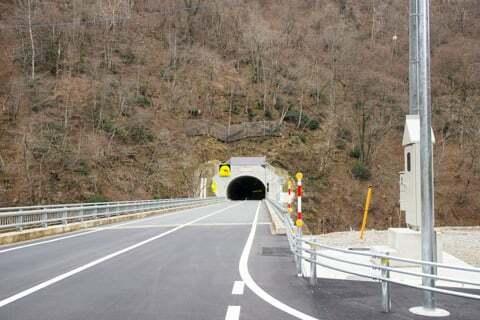 成手トンネルの写真