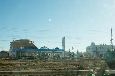 岐阜市則武西のクスリのアオキ予定地の写真