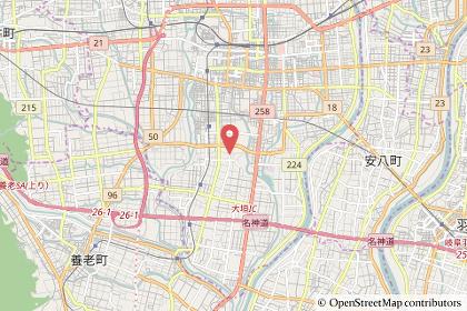 スーパービバホーム大垣店の地図の写真