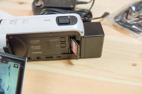 キャノン iVIS HF R800の写真