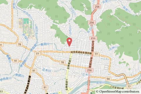 ファミリーマート岐阜上土居店の地図の写真