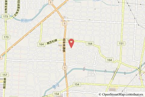 クスリのアオキ南鶉店の地図の写真