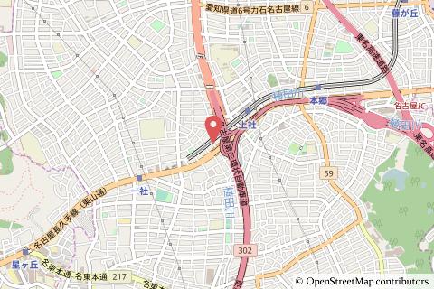 フィールクオリテ上社店の地図の写真