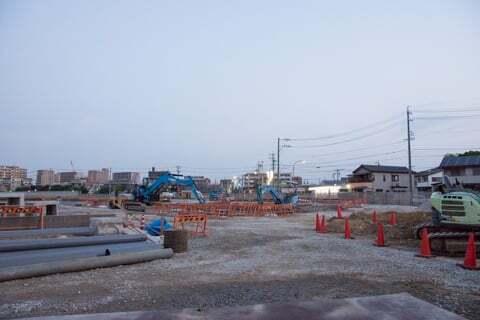 (仮称)勝川商業施設の様子の写真