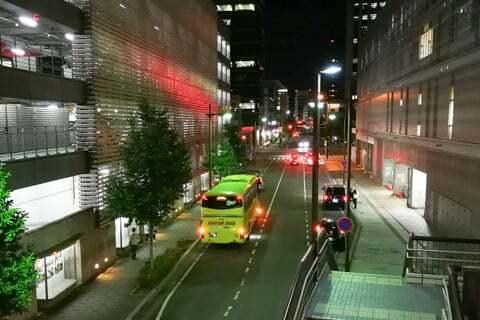 夜行バスの写真