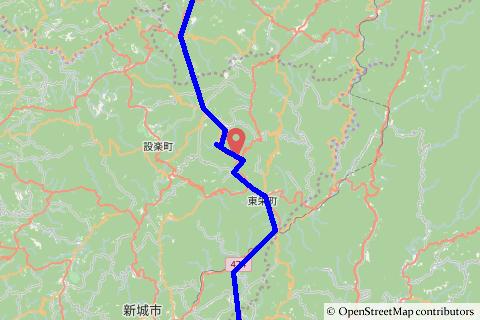 愛知県道・長野県道10号設楽根羽線ルートの写真