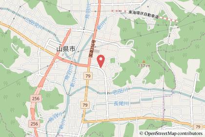 コスモス薬品高富店の地図の写真