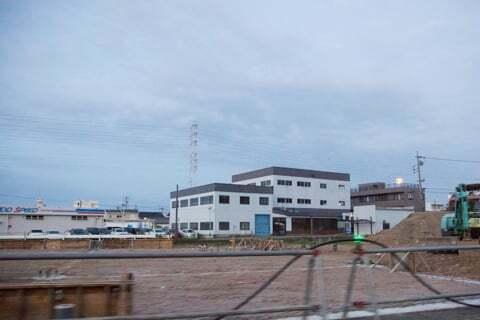 岐阜市入舟町のスギ薬局グループ予定地の様子の写真