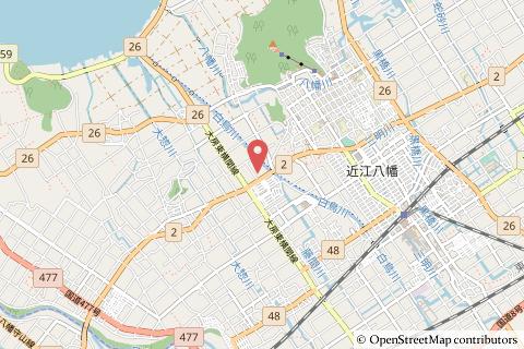 トライアル近江八幡店の地図の写真