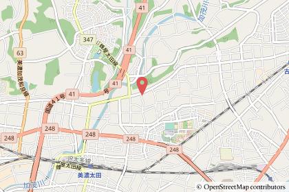 クスリのアオキ新池店の地図の写真