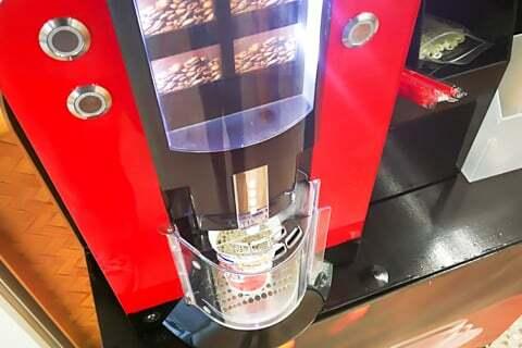 引き立てコーヒーの写真