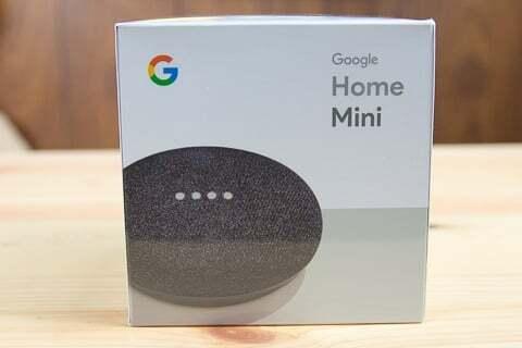 Google Home miniの写真
