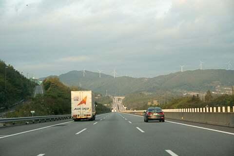 新東名高速道路の写真