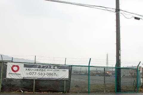 (仮称)トライアル湖南店予定地の写真