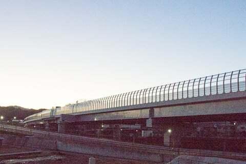 E1A・新名神高速道路の写真