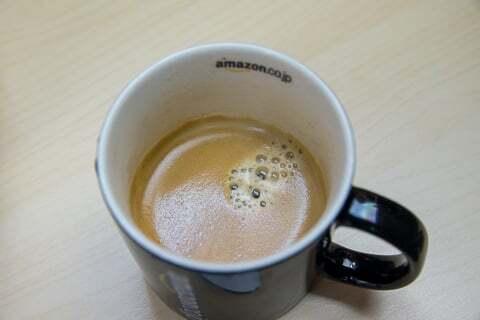 コーヒーの普通サイズの写真
