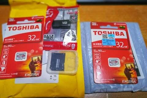輸入したSDカードの写真