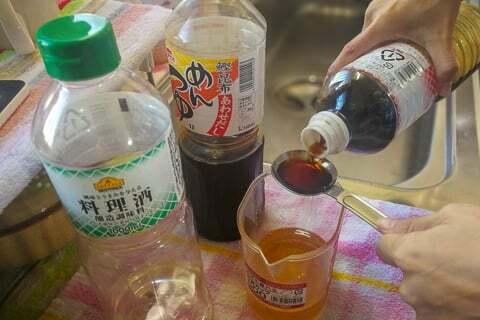 調味液の作り方の写真