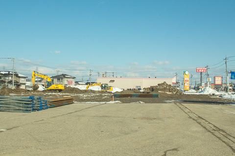 大阪屋ショップ戸出店予定地の写真