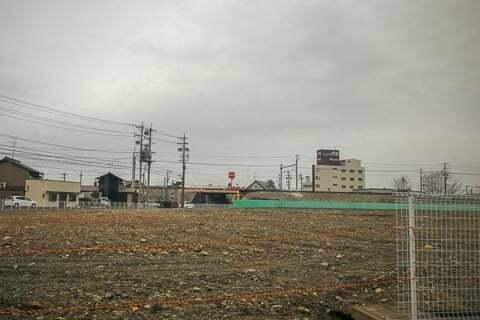 (仮称)トライアル岐南八剣北店予定地の様子の写真