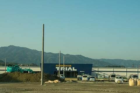 スーパーセンタートライアル湖南店の様子の写真