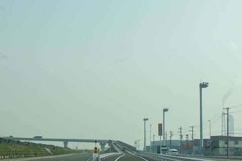 四日市いなばポートライン開通の写真