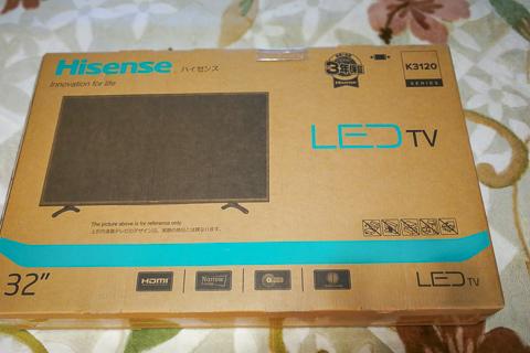 ハイセンス 32V型 液晶 テレビ HJ32K3120 の写真