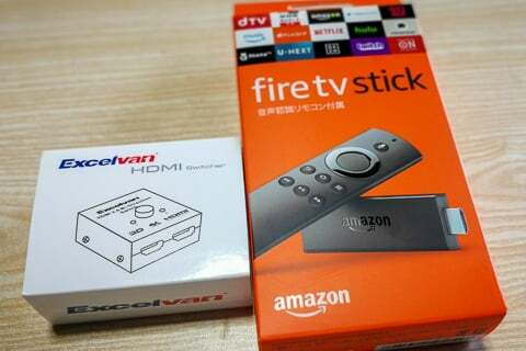 Fire TV Stickの写真