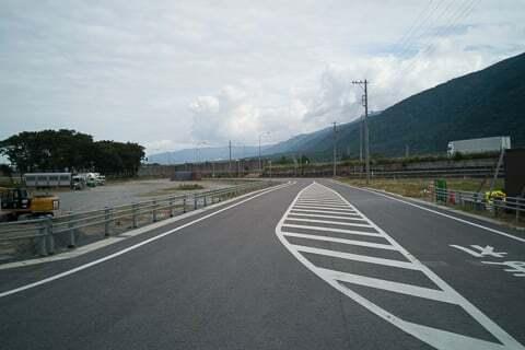 連絡道路の写真