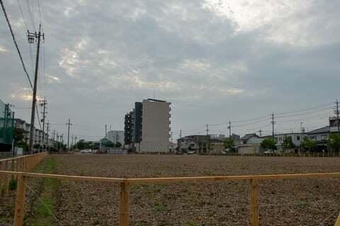 (仮称)ヨシヅヤ守山大屋敷店予定地の写真