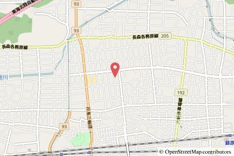 スギ薬局グループ蘇原店の地図の写真