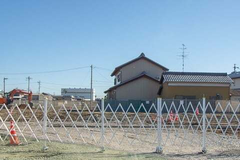 スギ薬局グループ竹鼻店予定地の写真