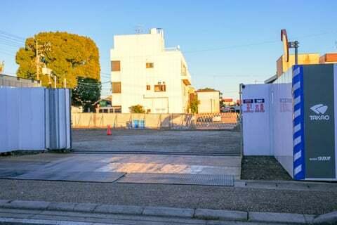 スギ薬局グループ岐阜城東店予定地の写真