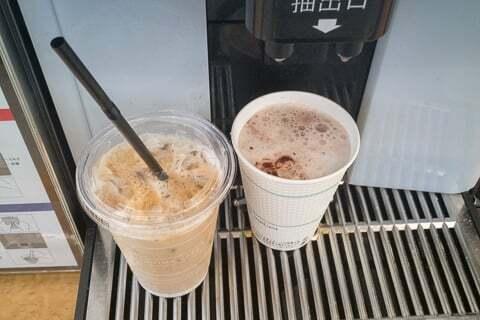 セルフコーヒーの写真