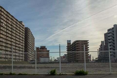 ラ・ムー名古屋木場店予定地の写真
