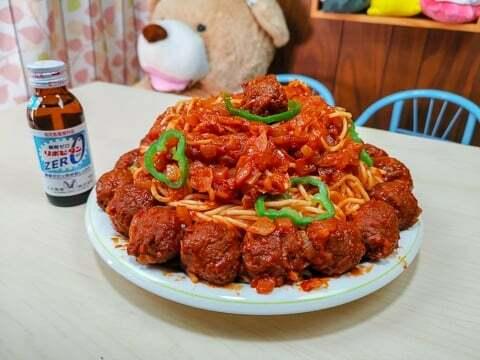 ミートボールスパゲティの写真