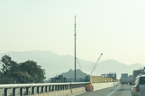 西亀山JCTはの写真