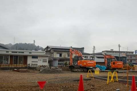 ゲンキー上岡本松倉店工事の様子の写真