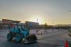 フォレストモール甲斐竜王は4月オープン予定でもうすぐ完成です
