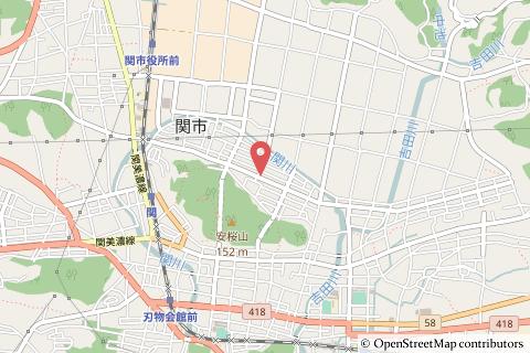 ゲンキー西本郷の地図の写真