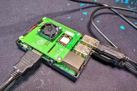 Raspberry piの写真