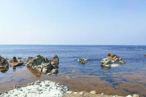 日本海の写真