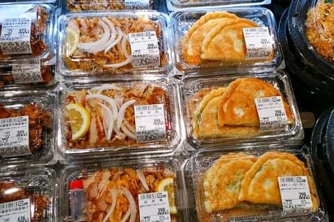 中華コーナー惣菜の写真